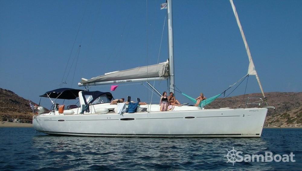 Alquiler de barcos Αττική barato de Oceanis 50