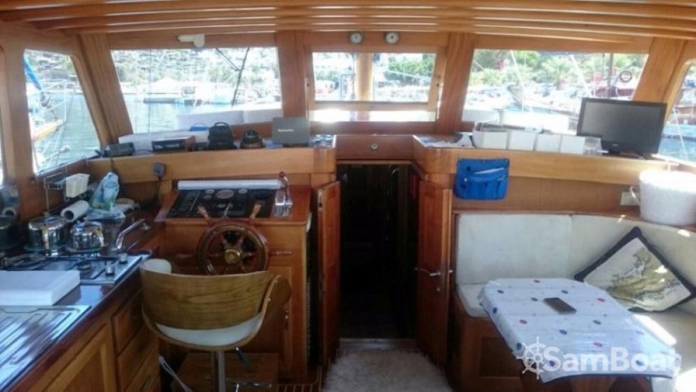 Alquiler Velero Custom Made con título de navegación