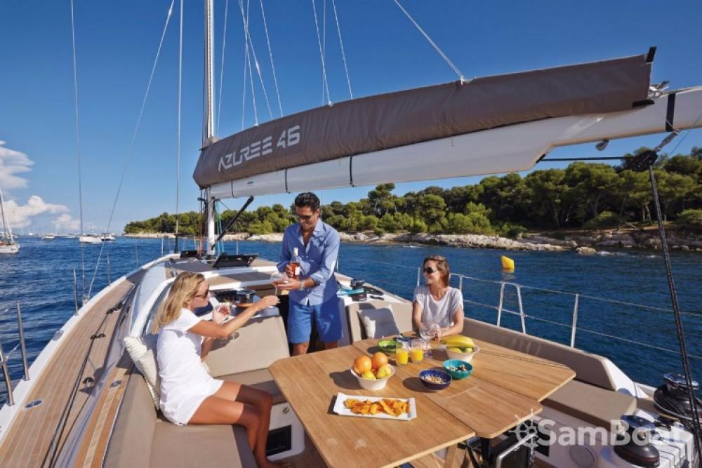 Alquiler Velero Sirena-Marine con título de navegación