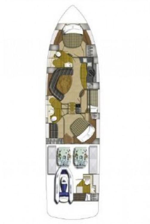 Alquiler de yate Split - Fairline-Boats Fairline Targa 62 GT - 3 + 1 cab. en SamBoat