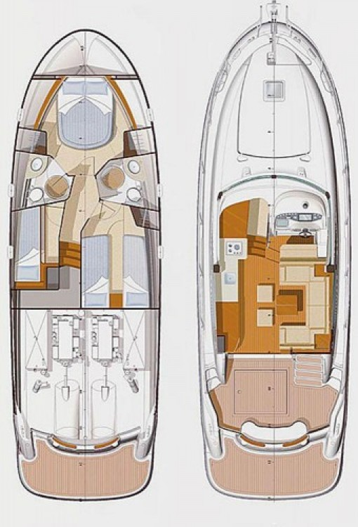 Alquiler Lancha en Croacia - Jeanneau Prestige 42 Fly