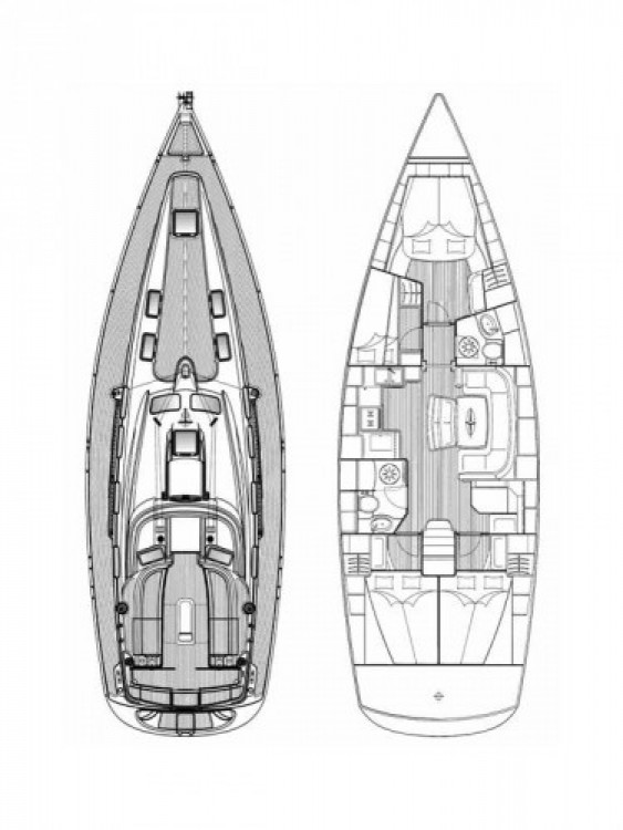 Alquiler de barcos Šibenik barato de Cruiser 46