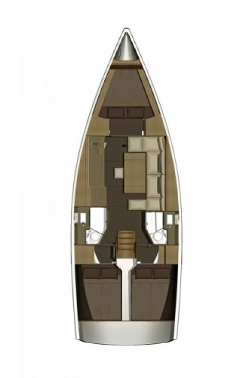 Alquiler de barcos Dufour Dufour 382 Grand Large enŠibenik en Samboat