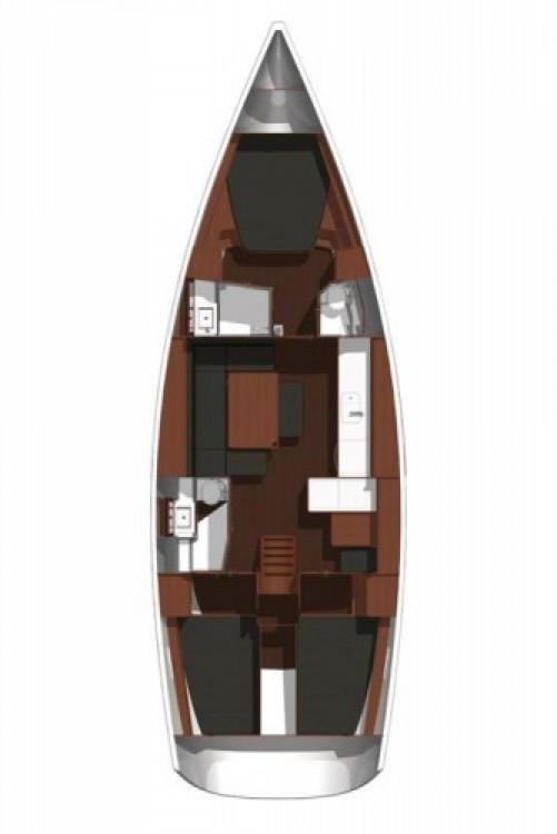 Alquiler de barcos Šibenik barato de Dufour 445 Grand Large