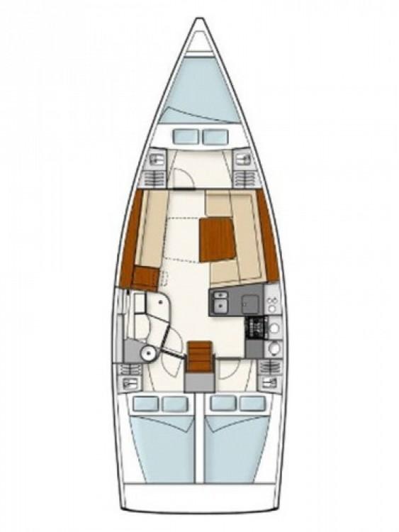 Alquiler de barcos Šibenik barato de Hanse 385