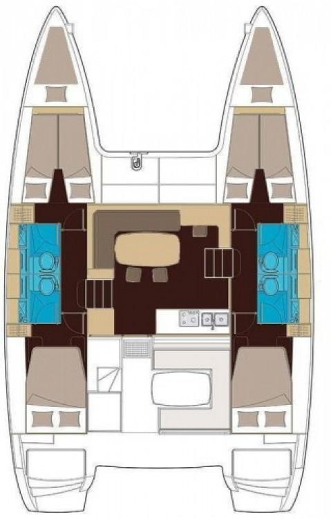 Alquiler Catamarán en Šibenik - Lagoon Lagoon 400