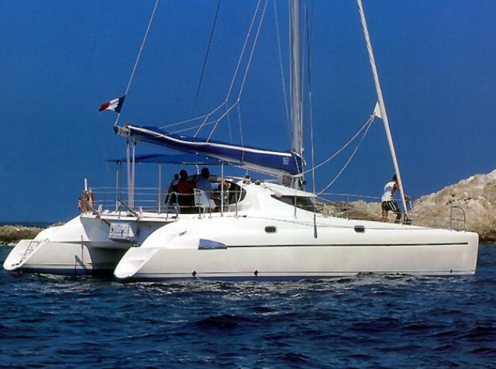 Fountaine Pajot Athena 38 entre particulares y profesional Marmaris Yacht Marina A.Ş