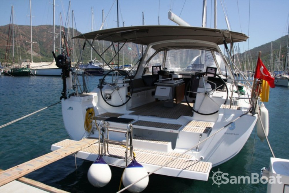 Alquiler de yate Marmaris Yacht Marina A.Ş - Bénéteau Oceanis 45 en SamBoat