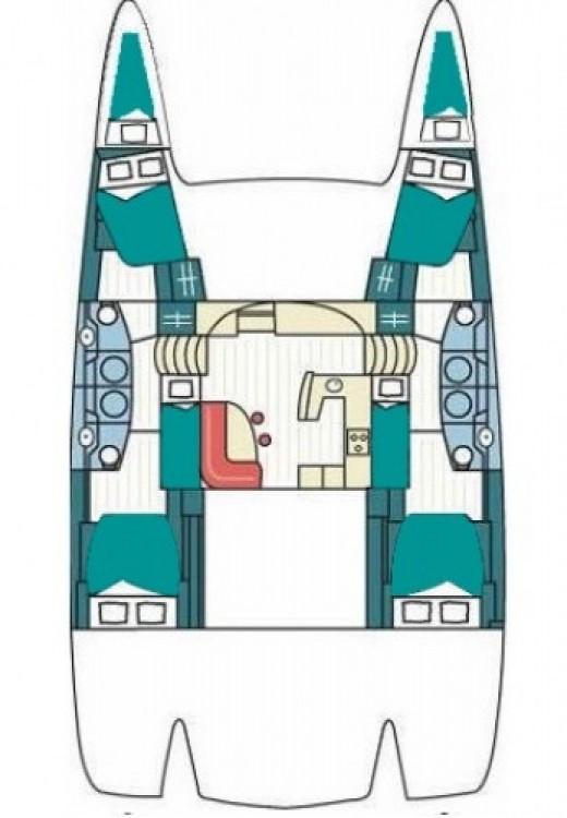 Alquiler Catamarán en Marmaris Yacht Marina A.Ş - Fountaine Pajot Salina 48