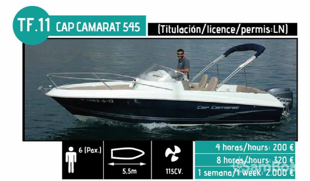 Alquiler de yate l'Ampolla - Jeanneau CAP CAMARAT en SamBoat