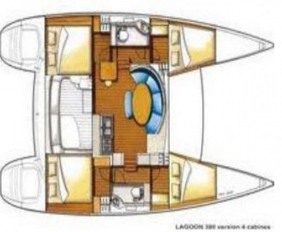 Alquiler Catamarán en Ibiza - Lagoon Lagoon 380 S2