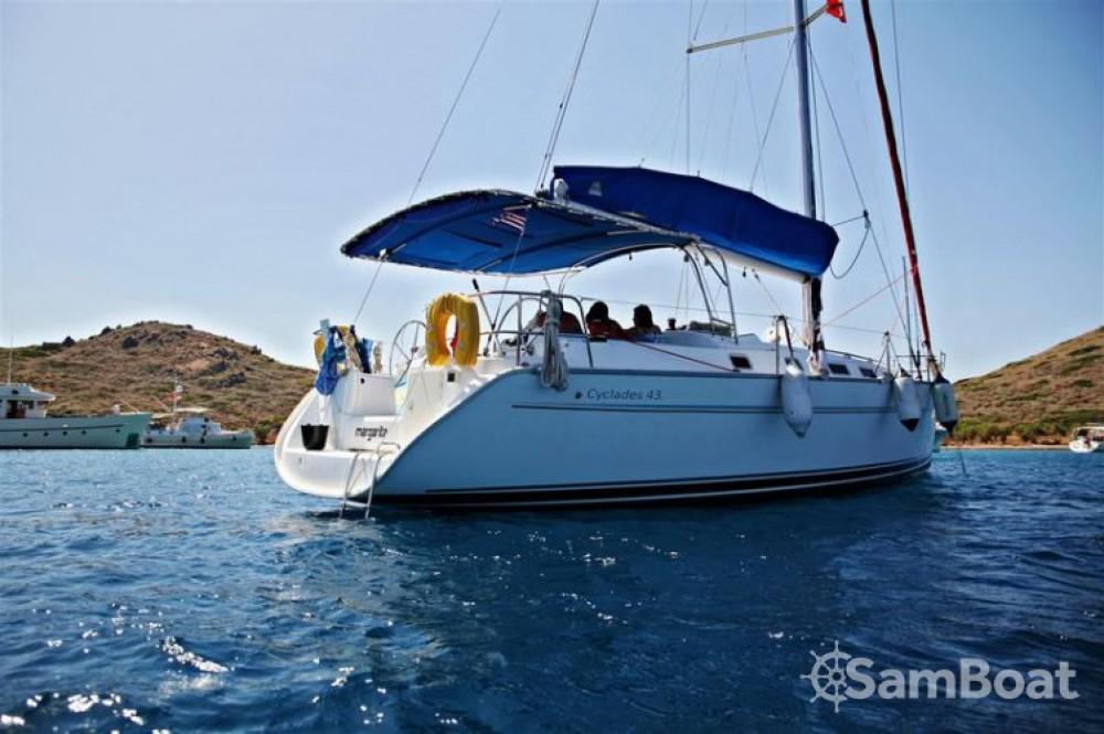 Boat rental Bénéteau Cyclades 43 in Muğla on Samboat