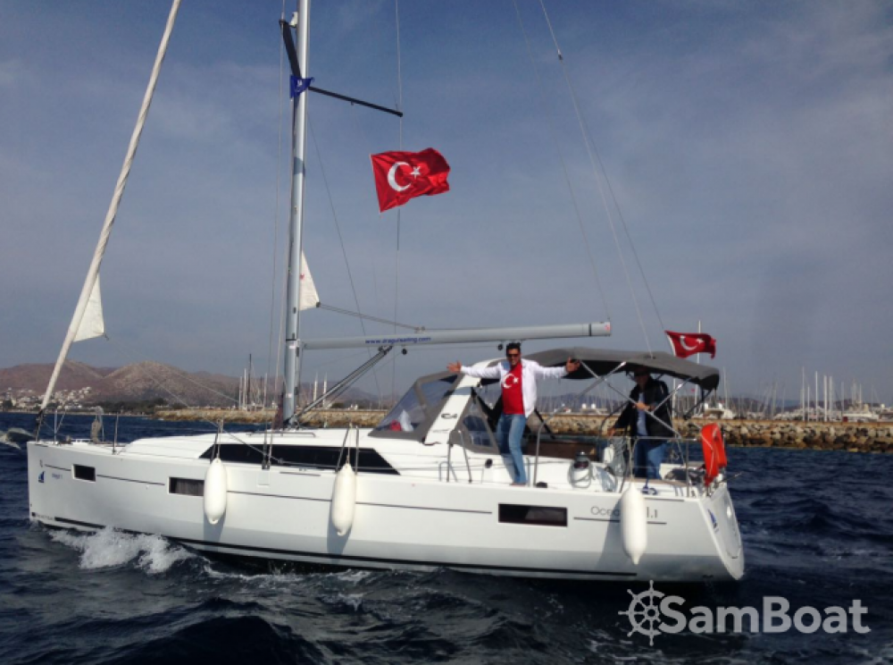 Bénéteau Oceanis 41.1 between personal and professional Muğla