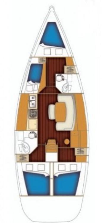 Rental Sailboat in Muğla - Bénéteau Cyclades 43