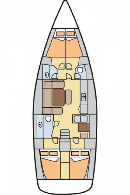 Alquiler de barcos Göcek barato de Dufour 445 Grand Large