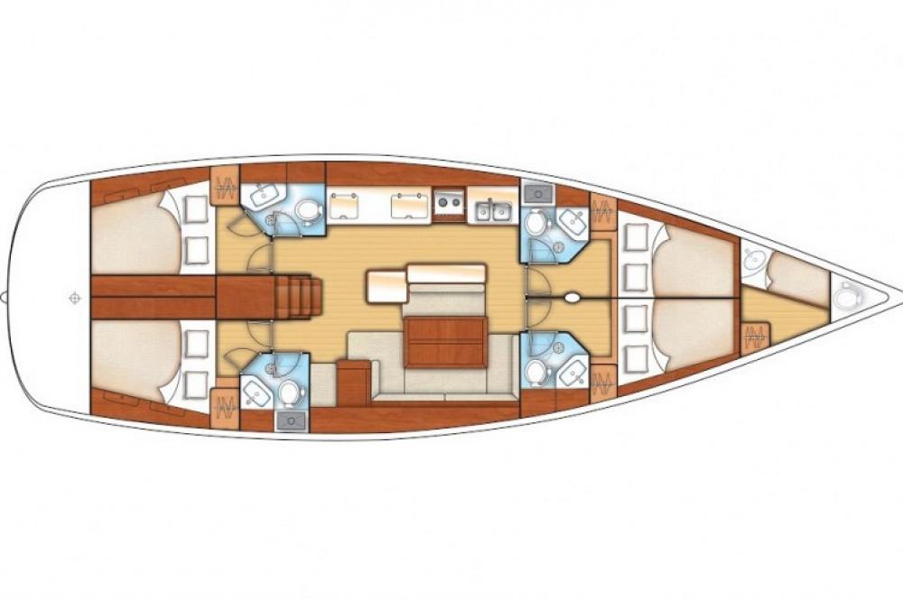 Alquiler de barcos Bénéteau Oceanis 50 Family enGöcek en Samboat