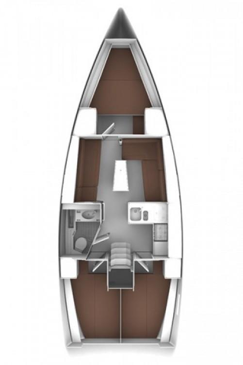 Bavaria Cruiser 37 entre particulares y profesional Šibenik