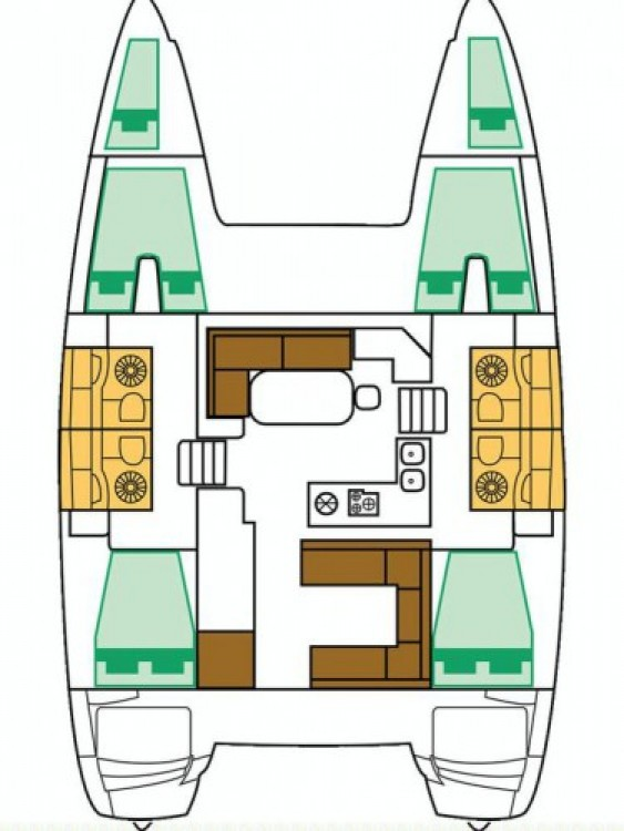 Alquiler de Catamarán, con o sin patrón Lagoon Šibenik