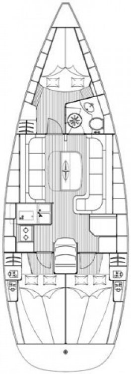 Location yacht à Marina Šangulin - Bavaria Cruiser 37 sur SamBoat