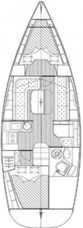 Bavaria Cruiser 33 entre particulares y profesional Croacia