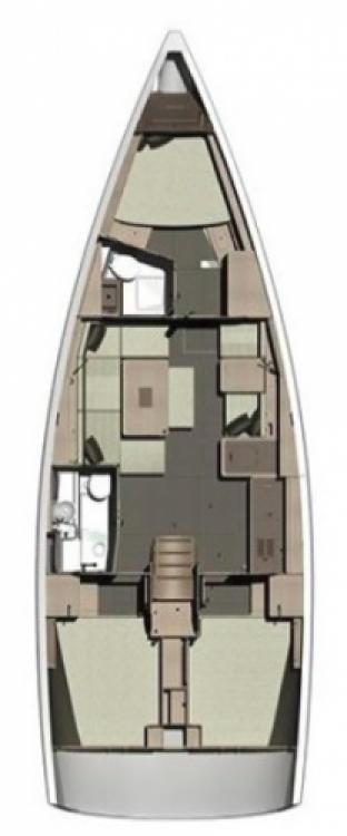 Alquiler de barcos Marina Šangulin barato de Dufour 412 Grand Large