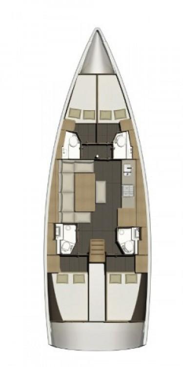 Alquiler de barcos Croacia barato de Dufour 460 Grand Large