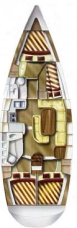 Dufour Gib Sea 43 entre particulares y profesional Croacia