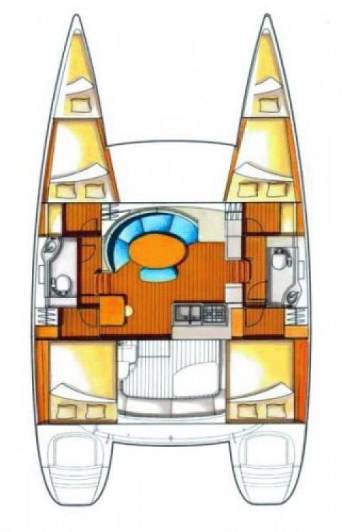 Alquiler de Catamarán, con o sin patrón Lagoon Trogir