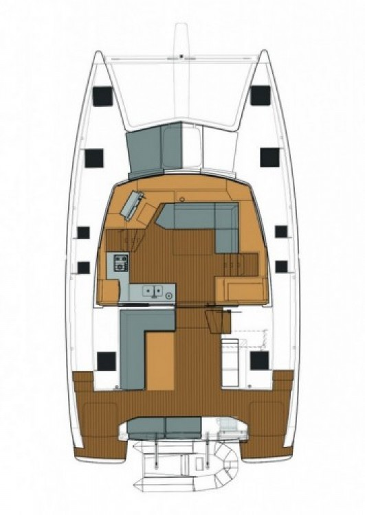Fountaine Pajot Lucia 40 entre particulares y profesional Trogir