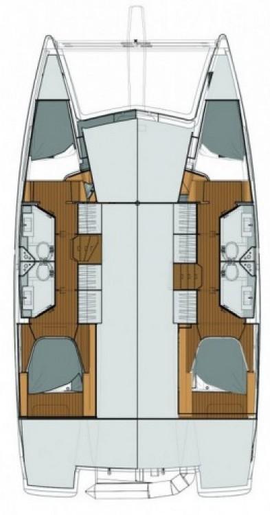 Alquiler Catamarán en Trogir - Fountaine Pajot Lucia 40
