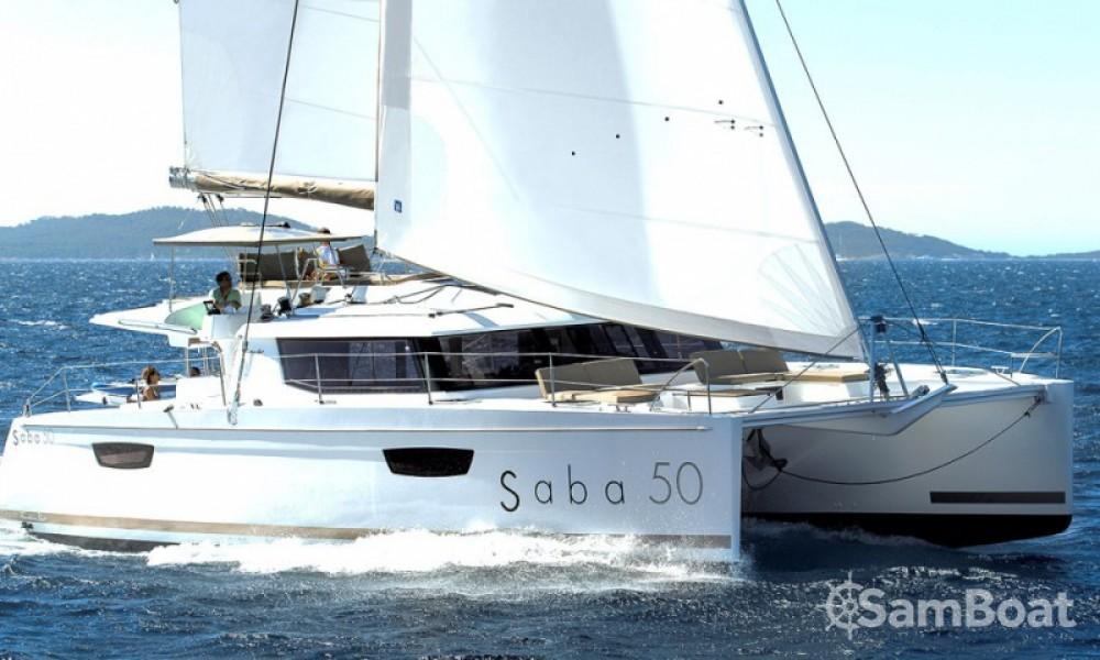 Alquiler Catamarán en Trogir - Fountaine Pajot Saba 50