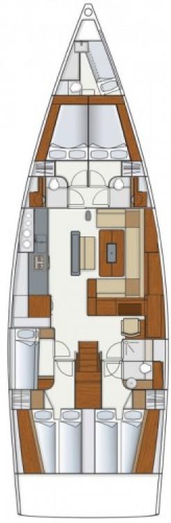 Alquiler de barcos Trogir barato de Hanse 575