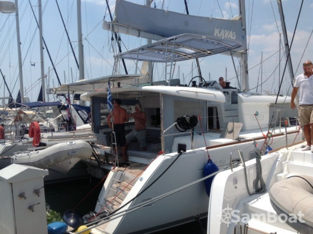 Lagoon Lagoon 450 zwischen Privatpersonen und professionellem Anbieter Lefkada