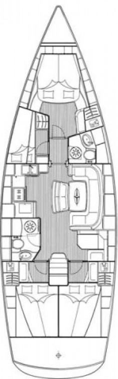 Bavaria Cruiser 46 zwischen Privatpersonen und professionellem Anbieter Lavrion