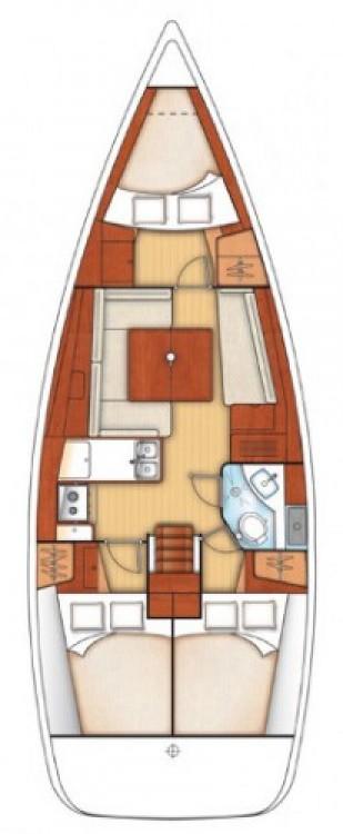 Bootsverleih Leucade günstig Oceanis 37