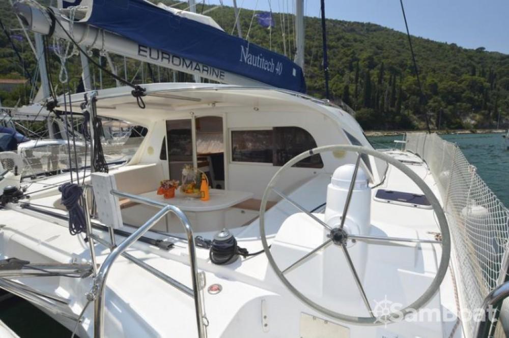 Location bateau Croatie pas cher Nautitech 40