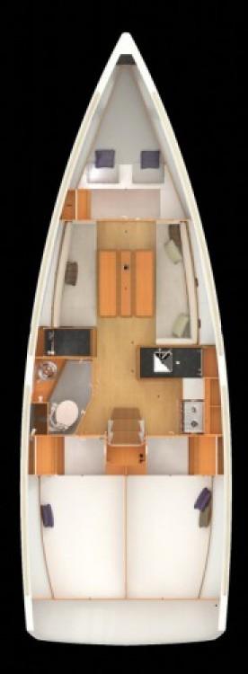 Location yacht à Croatie - Jeanneau Sun Odyssey 349 sur SamBoat
