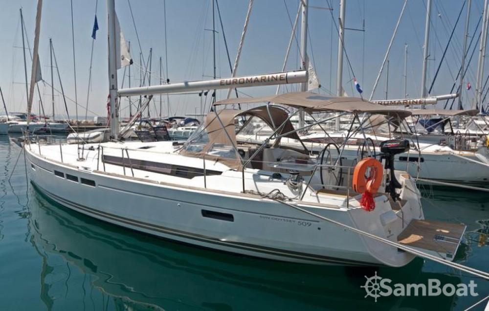 Jeanneau Sun Odyssey 509 entre particuliers et professionnel à Split