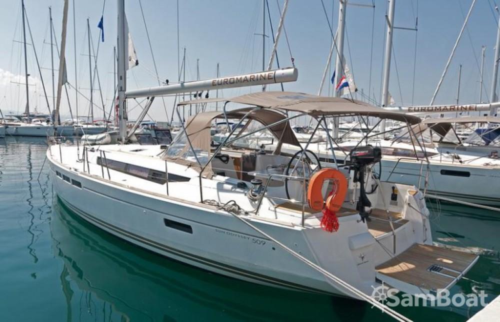 Location bateau Split pas cher Sun Odyssey 509
