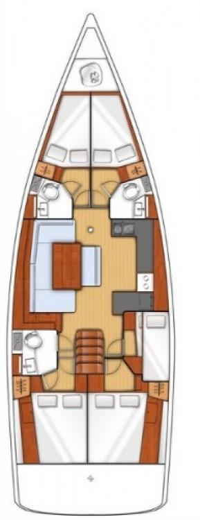 Segelboot mieten in Follonica - Bénéteau Oceanis 48