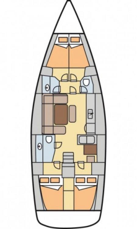 Dufour Dufour 450 Grand Large zwischen Privatpersonen und professionellem Anbieter Marsala