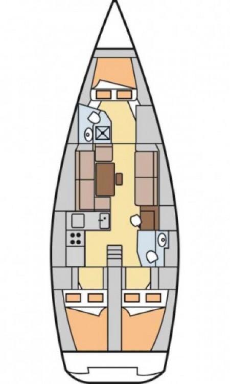 Segelboot mieten in Palermo - Dufour Dufour 40 E