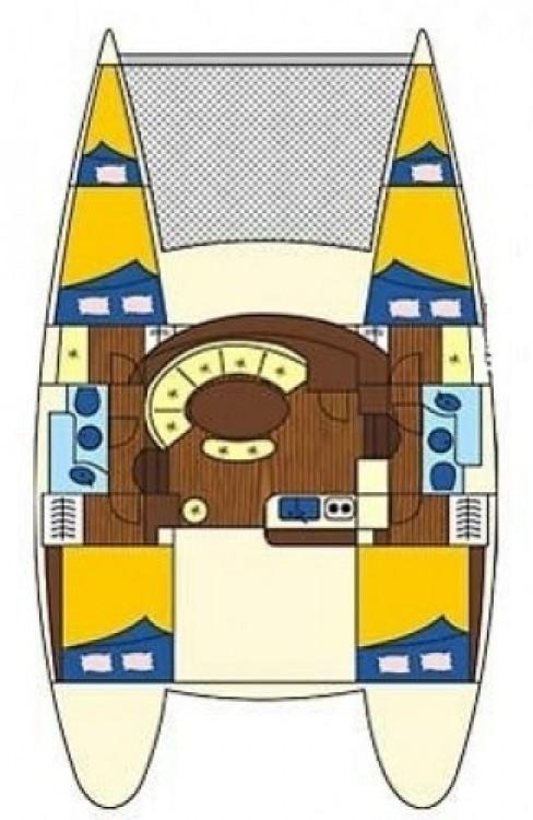 Bootsverleih Furnari günstig Lagoon 380