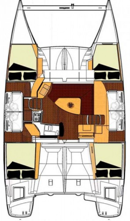 Bootsverleih Fountaine Pajot Lipari 41 Salerno Samboat