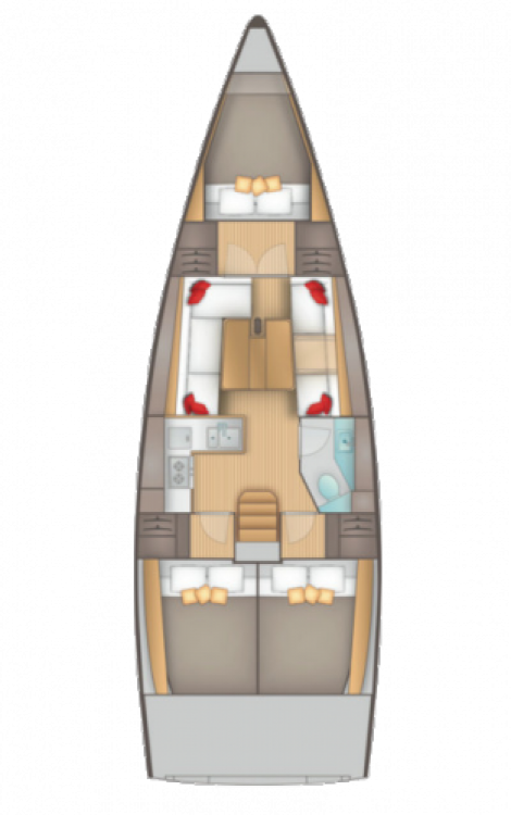 Bootsverleih Salona Salona 38 Seget Donji Samboat
