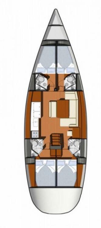 Segelboot mieten in Salerno - Jeanneau Sun Odyssey 49i