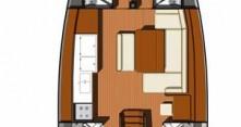 Jeanneau Sun Odyssey 49i entre particuliers et professionnel à Salerne