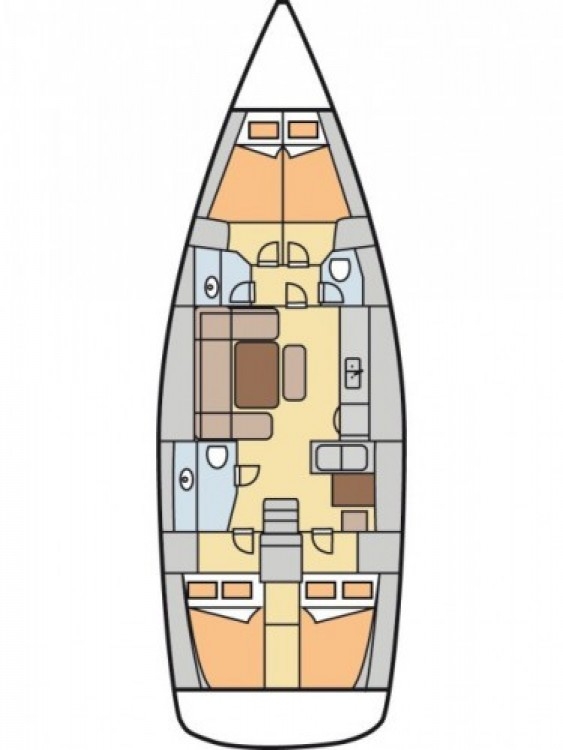 Yacht-Charter in Fethiye - Dufour Dufour 450 Grand Large auf SamBoat