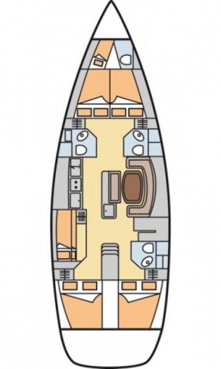 Segelboot mit oder ohne Skipper Bénéteau mieten in Kroatien