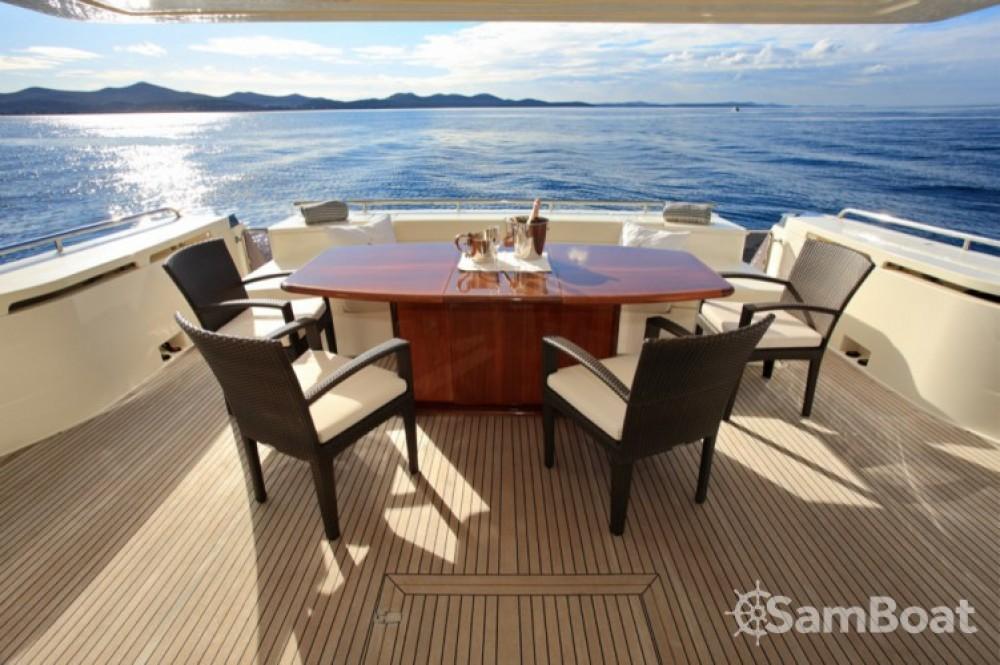 Yacht-Charter in Zadar - Ferretti-Yachts-Group Ferretti 780 HT auf SamBoat